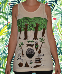 FOREST FORAGING SINGLET