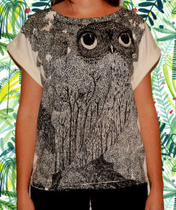 FOREST OWL TEE