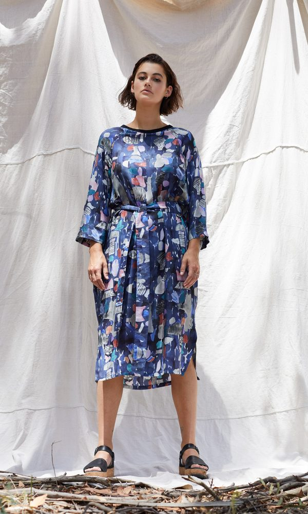 Tessie Silk Viscose Dress