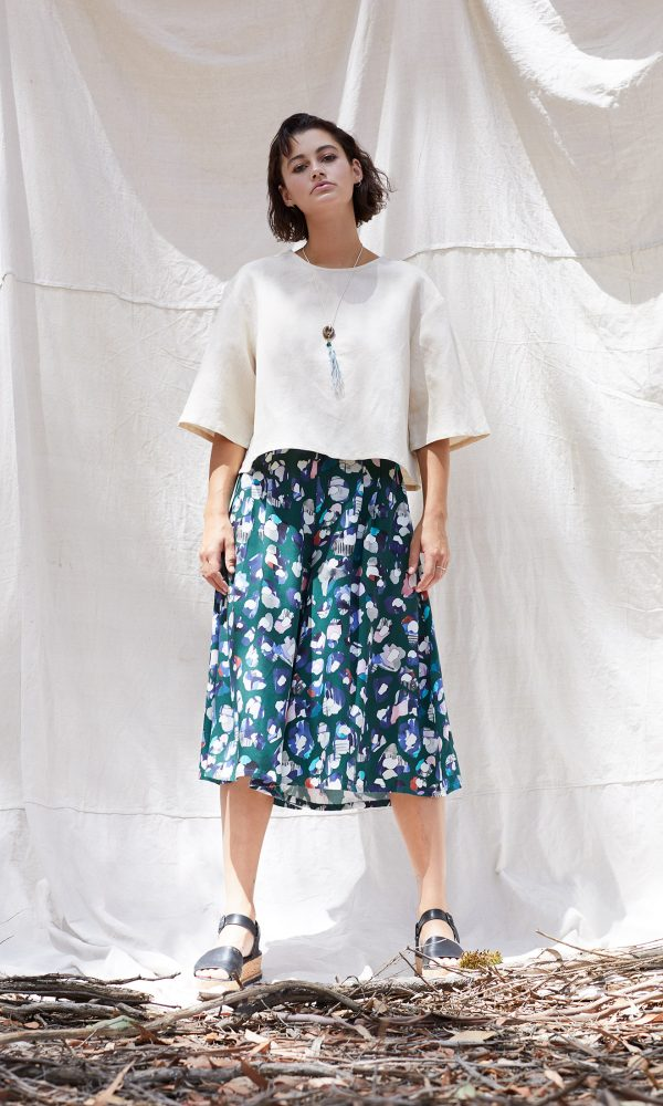 Marlo Top and Into The Wild Culotte