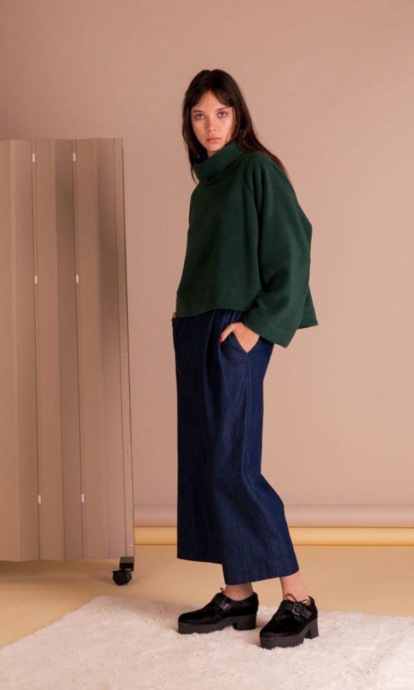 Celia Fleecy - Green